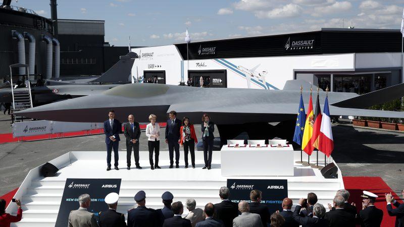 Франция, Германия и Испания будут совместно создавать европейский истребитель пятого поколения