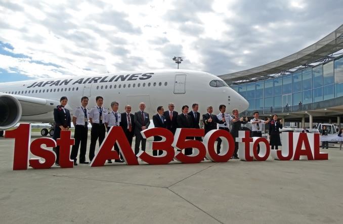 jala350 - Первый A350-900 для Японии ломает монополию Boeing