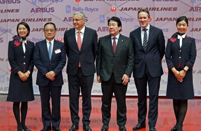 jala3501 - Первый A350-900 для Японии ломает монополию Boeing