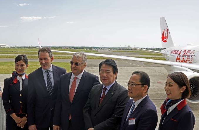 jala3502 - Первый A350-900 для Японии ломает монополию Boeing