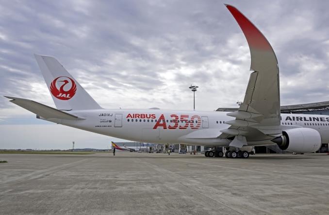 jala35023 - Первый A350-900 для Японии ломает монополию Boeing