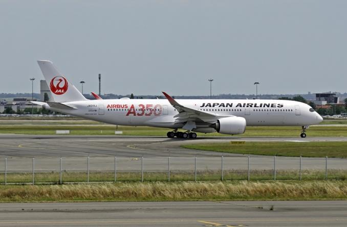 jala35024 - Первый A350-900 для Японии ломает монополию Boeing