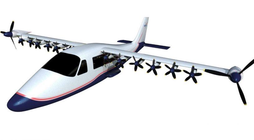 maxwell 816x450 - В NASA начались испытания прототипа электрического самолета на базе Tecnam P2006T