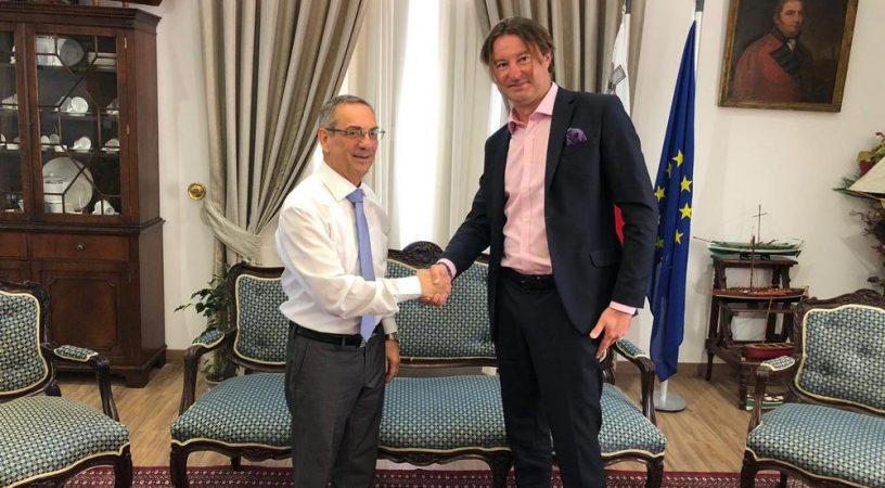 02 816x450 - Директор Cofrance встретился с министром Мальты