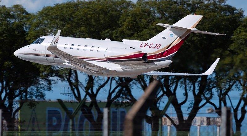 5 - Полет на частном самолете в Аргентину