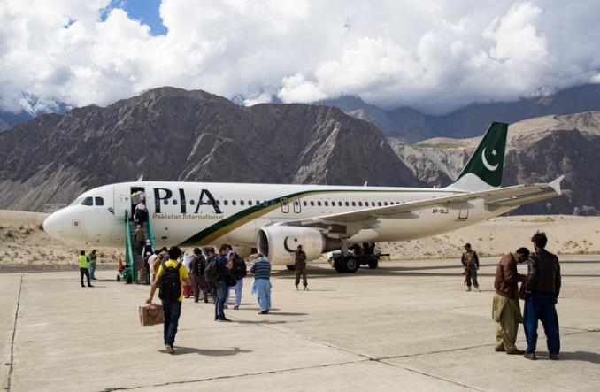 PIA - Пакистан открыл свое воздушное пространство