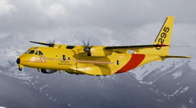 RCAF CC 295 FWSAR Aircraft 816x450 - CC-295, как поисково-спасательный самолёт в ВВС Канады