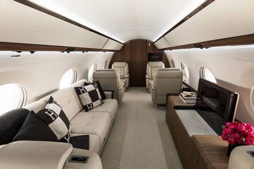 gulfstream g650er interior 11 123456789 - Как Gulfstream G650ER AVIAV TM стал неповторимым