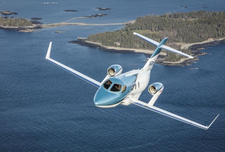 hondajet elite2 free big - HondaJet произведет революцию в деловой авиации на Гавайях