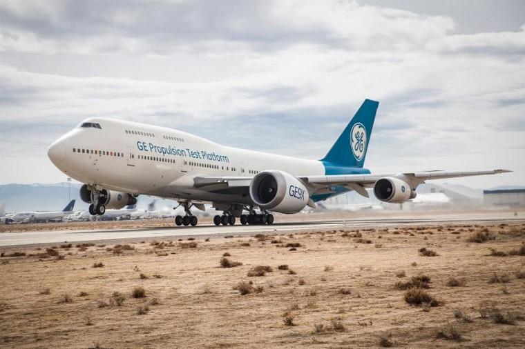 test bed 20 free big - Странные места установки двигателей на самолетах
