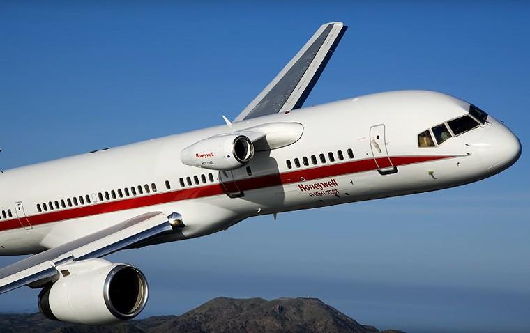 test bed 4 free big - Странные места установки двигателей на самолетах