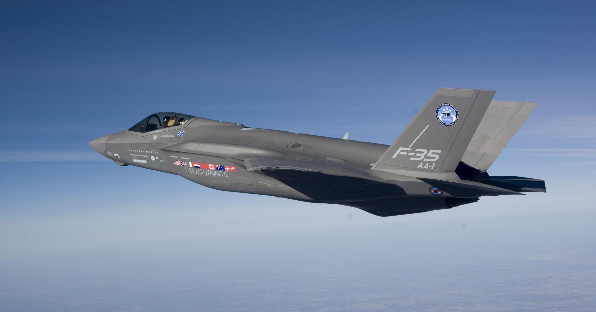F-35 Lightning II – рождение легенды
