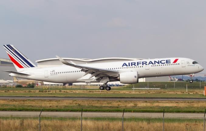 A350 авиакомпании Air France  будет летать из Парижа в Сантьяго-де-Чили
