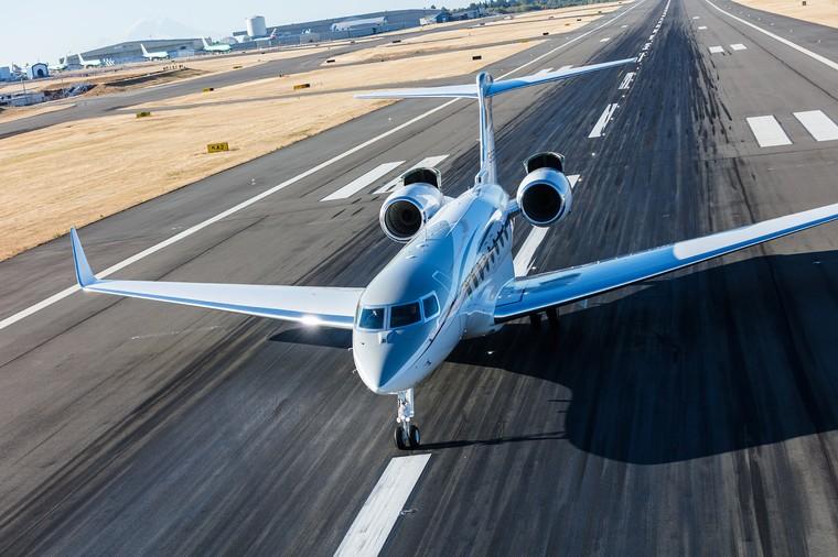 Gulfstream представит на авиасалоне  Labace свой флагманский бизнес-джет