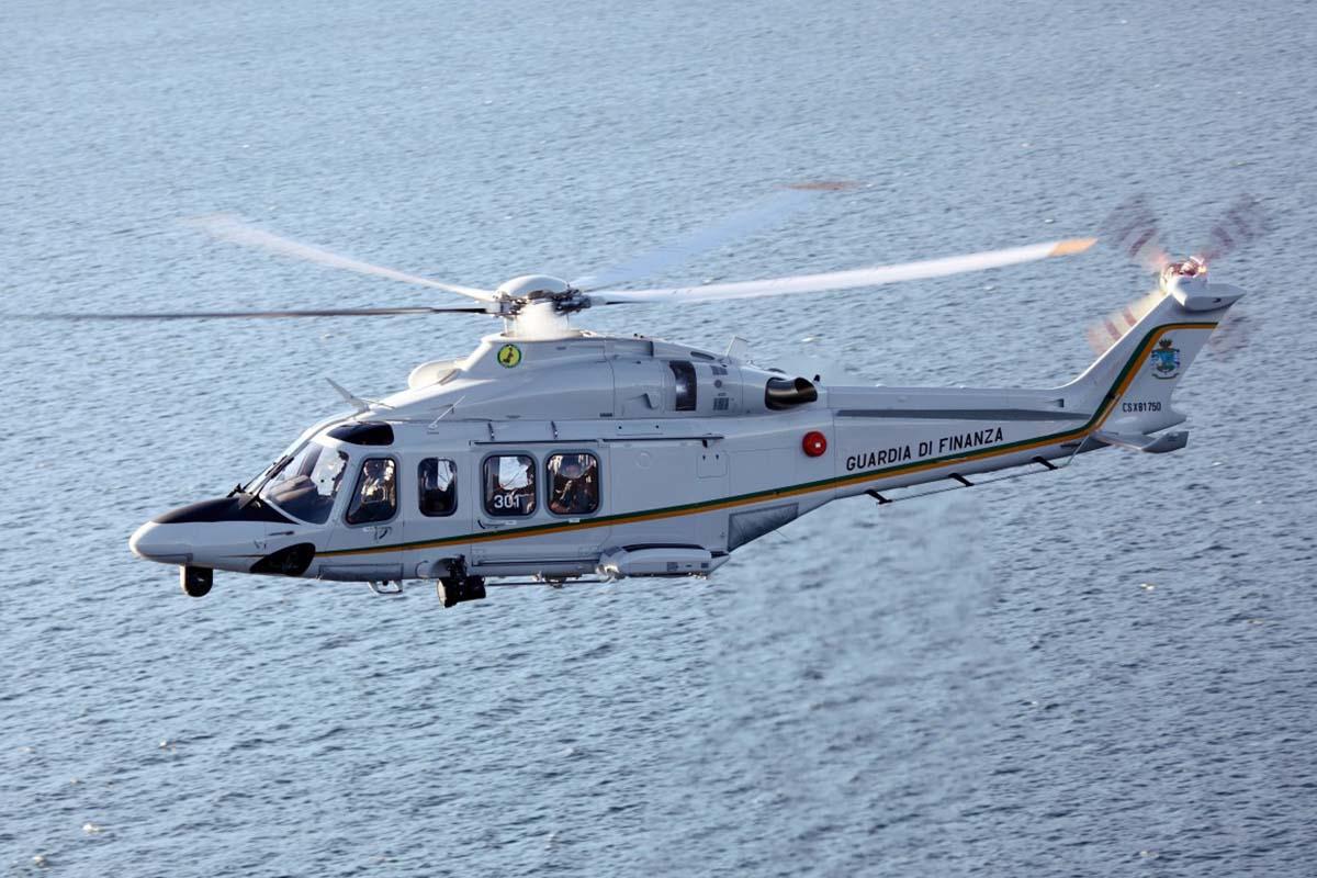 AW139 Guardia di Finanza GdF - Компания «Leonardo Helicopters» поставила тысячный по счёту вертолёт AW139