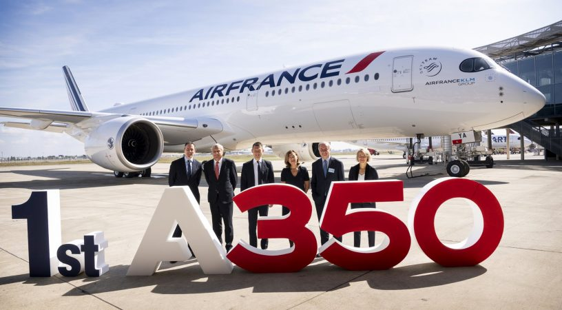 A350-900 для airFrance