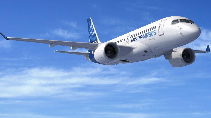 Airbus A220-300 выйдет на российский рынок в 2019 году