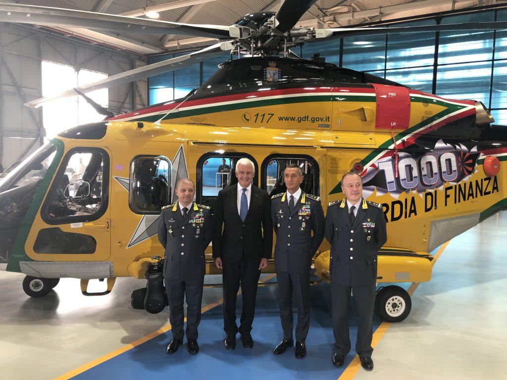 Тысячный вертолет AW139