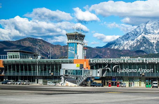 Международный аэропорт в Любляне