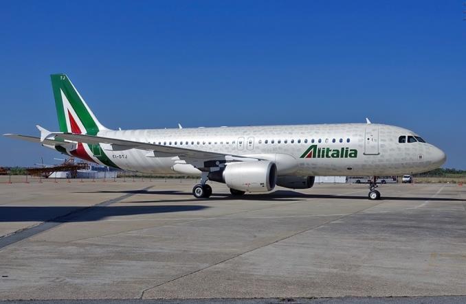 A320 компания Alitalia