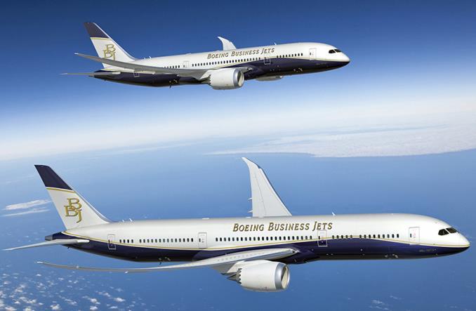 Деловой самолет BBJ 787-9