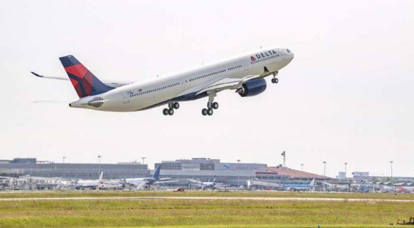 В авиапарке Delta появятся 2 самолета A330-900neos