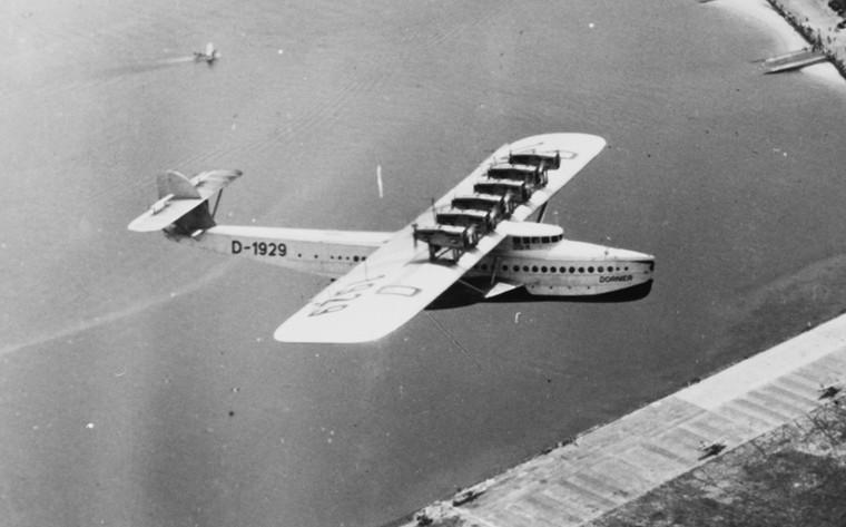 Dornier Do X Гигантская летающая лодка с 12 двигателями