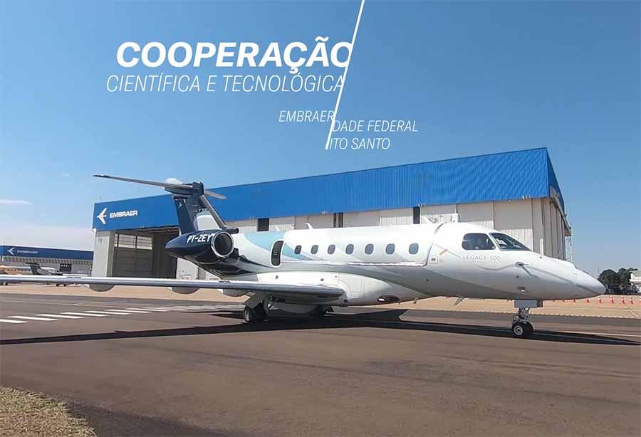 embraer aeronave autónoma 900px - Деловой самолет Embraer Legacy 500 скоро будет самостоятельно парковаться