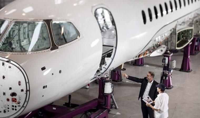 falcon 6x 4 free big 760x450 - Новый дальнемагистральный бизнес-джет Dassault начинает обретать форму