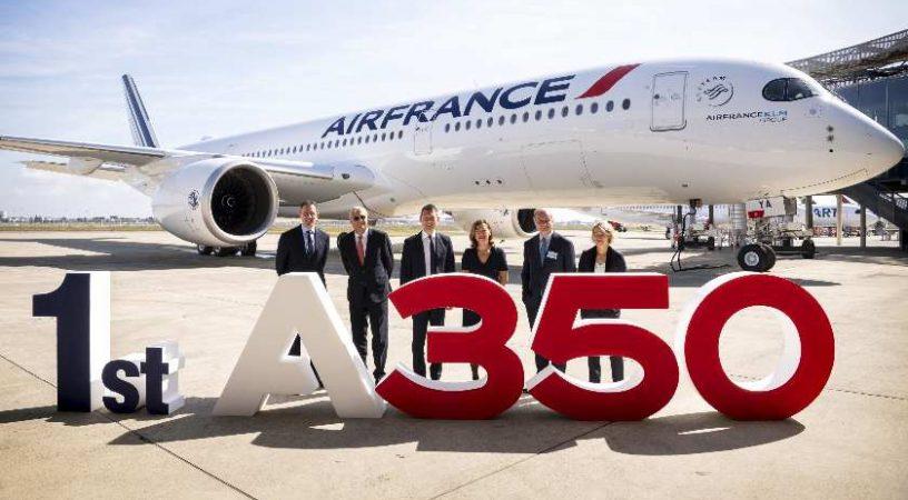 Air France получила свой первый Airbus A350 XWB