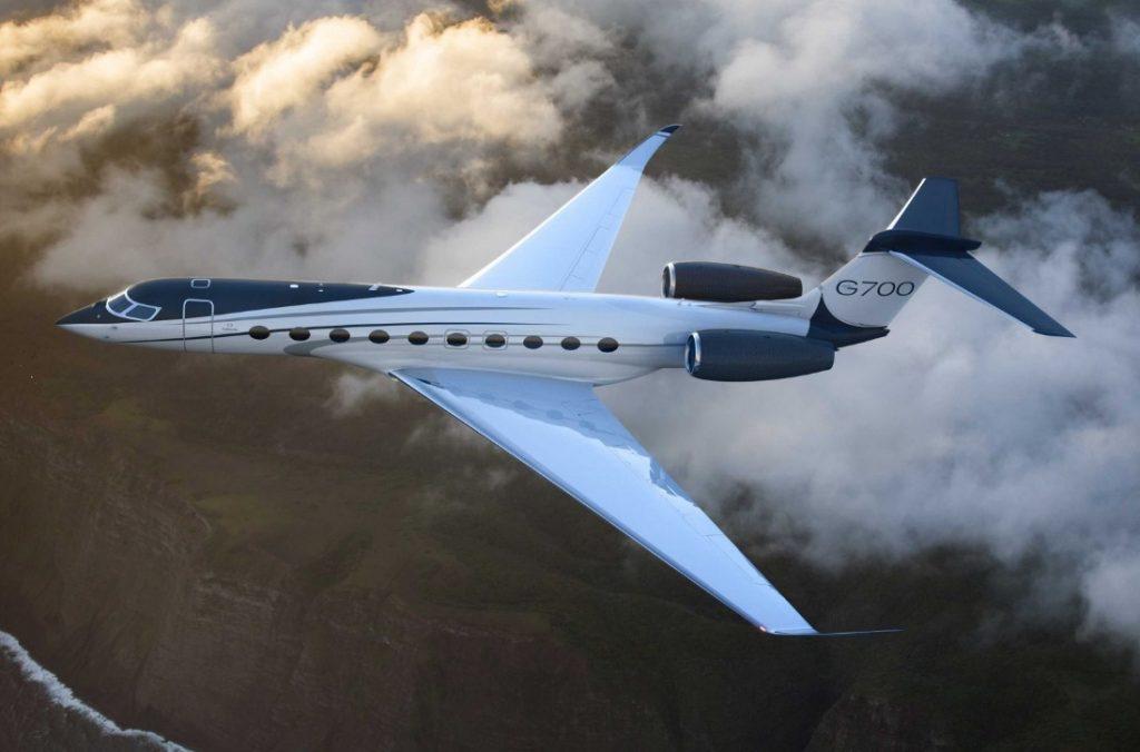 Новейший бизнес-джет Gulfstream G700
