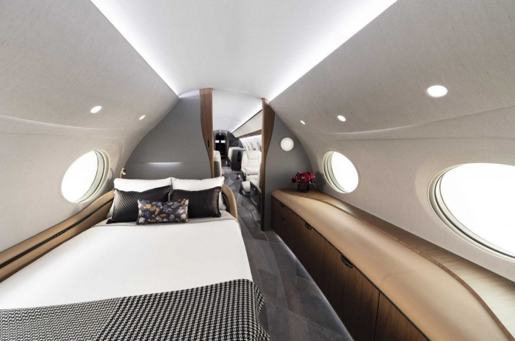 Спальная каюта Gulfstream G700