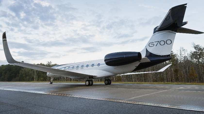 Новый флагман G700 от корпорации Gulfstream