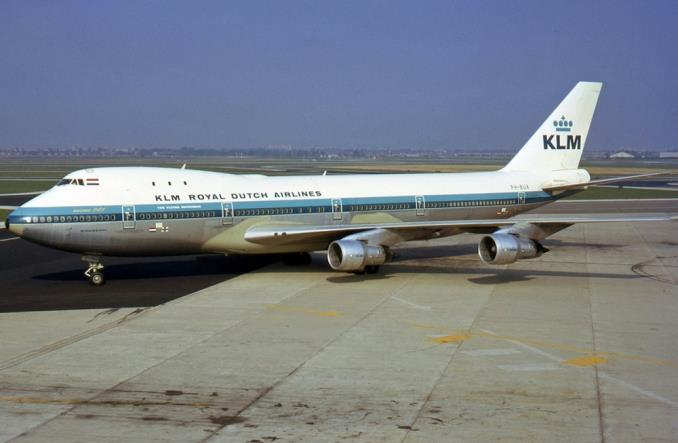 Первый B747 во флоте KLM
