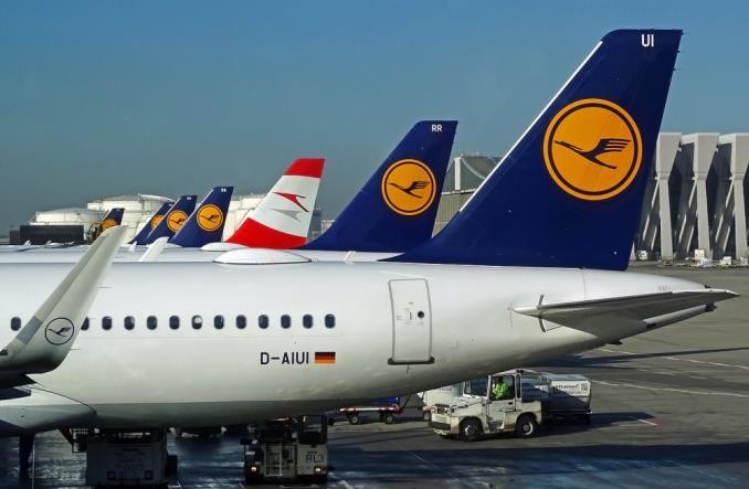 Самолеты авиакомпаний Lufthansa