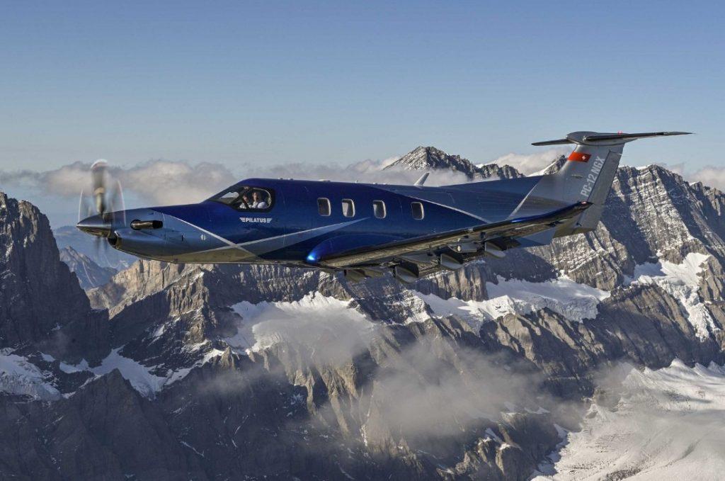 pc 12 ngx 1024x679 - NBAA-BACE:  Pilatus представил новый деловой турбопроп PC-12 NGX