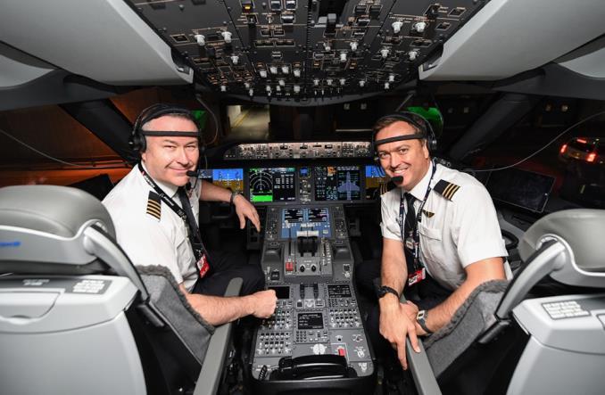 Пилоты свердальнего рейса Qantas