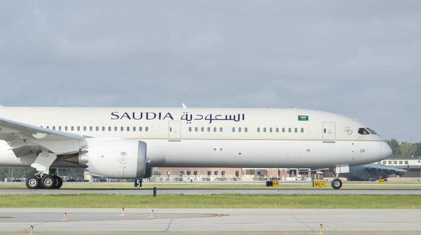 Авиакомпания Saudi Arabian получила свой первый Boeing 787-10 Dreamliner