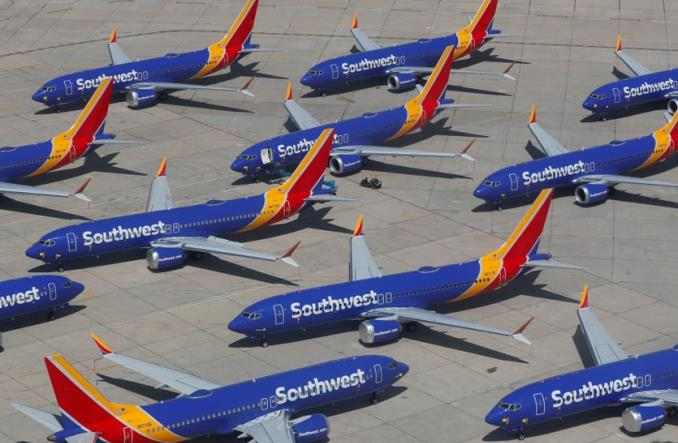 Зеземленные 737MAX компании  Southwest
