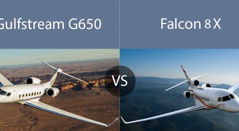 650 vs 8x 816x450 - Gulfstream G650 или  Dassault Falcon 8X? Выбор нашей редакции...