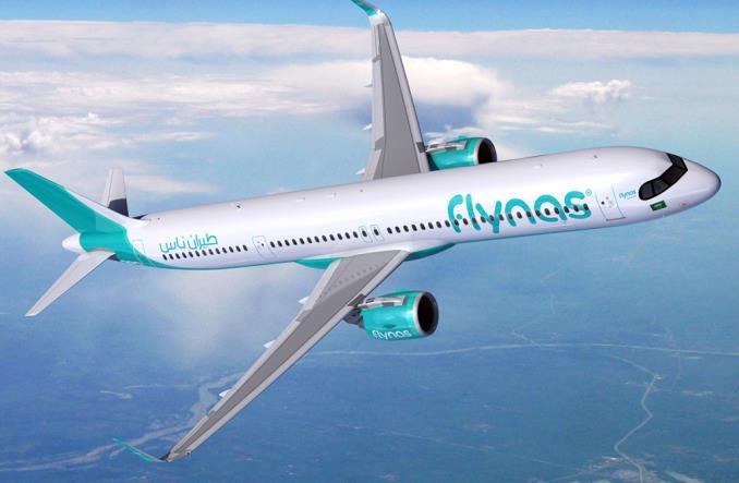 A321XLR для flynas