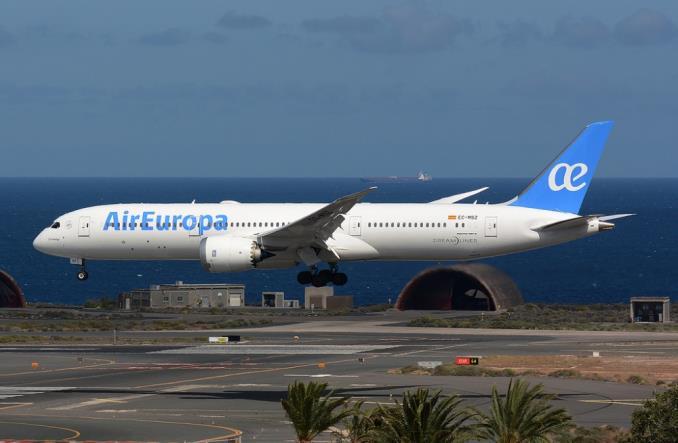B787 авиакомпании AirEuropa
