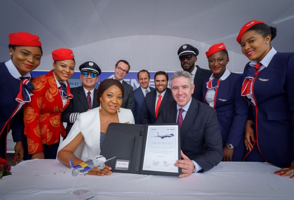 AirPeace  подписывает контракт на E195-E2