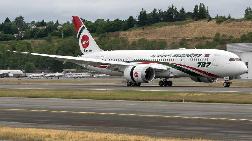 Biman Bangladesh заказал два самолета Boeing 787-9 Dreamliner