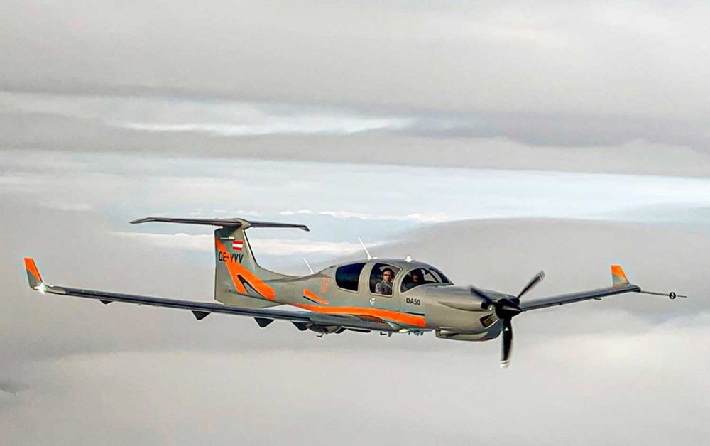 DA50 RG выполнил трансатлантический рейс