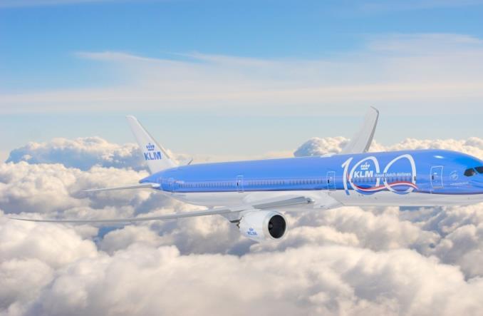 Dreamliner компании KLM