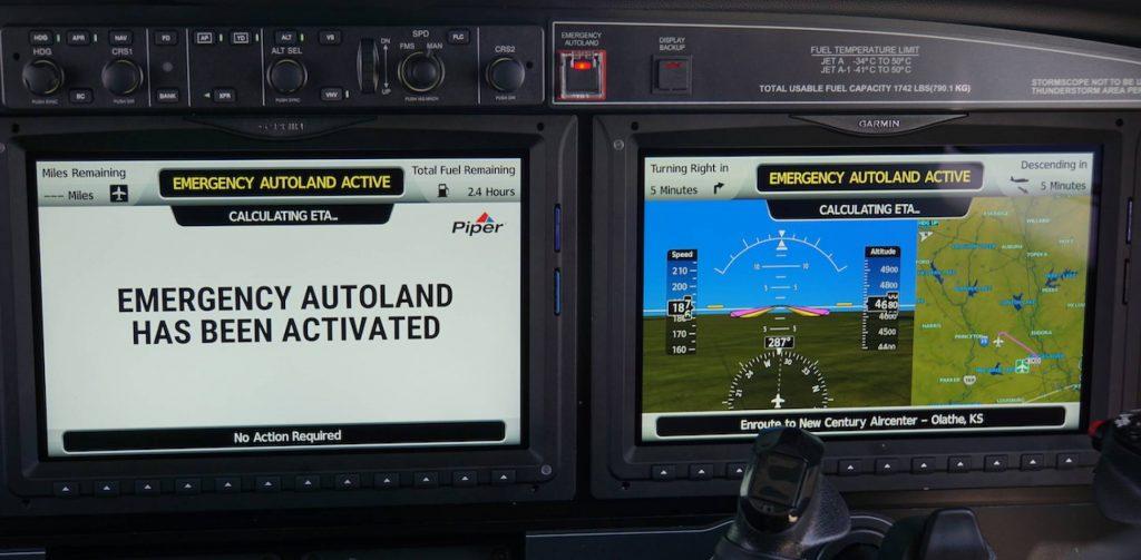 dsc04379 2 1024x503 - Для деловых самолетов Cirrus Vision Jet и Piper M600 будет доступна система экстренной автоматической посадки