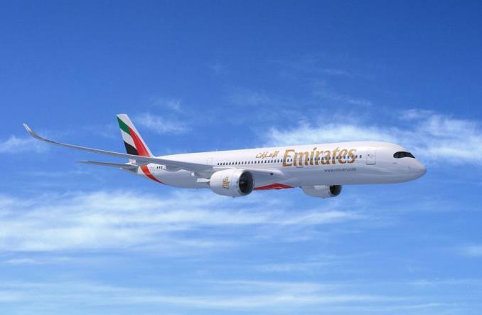 A350-900 авиакомпании Emirates