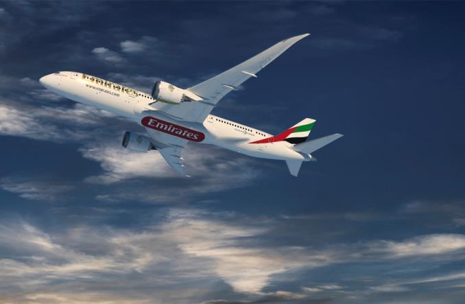 Boeing 787-9 Dreamliner для  Emirates