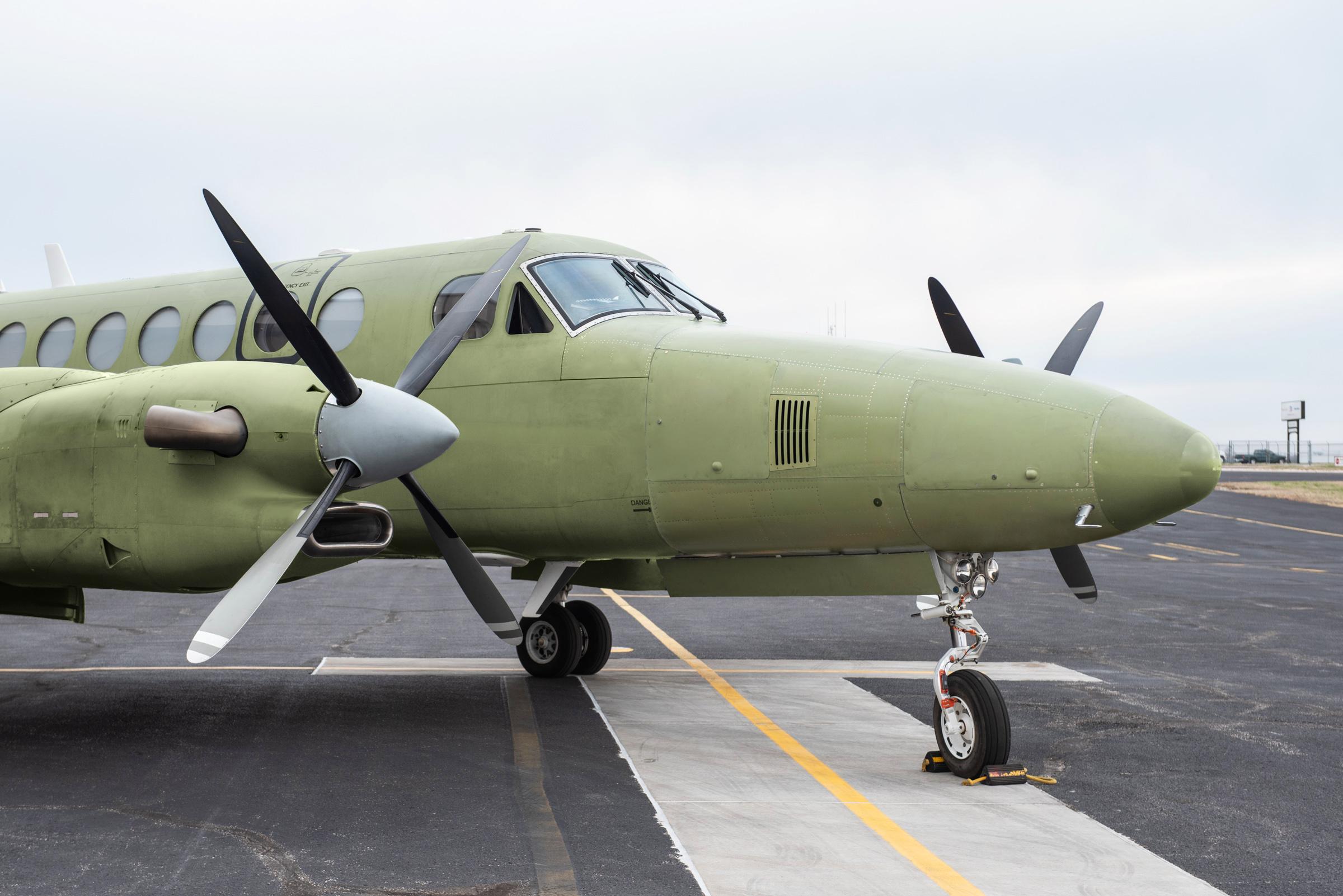 King Air 350 получил увеличенный носовой багажник